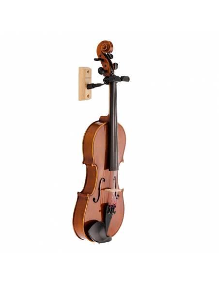 Support mural violon et alto Hercules DSP57WB