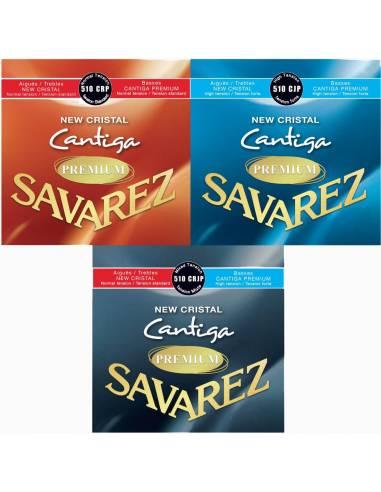 Cordes guitare Savarez New Cristal Cantiga Premium