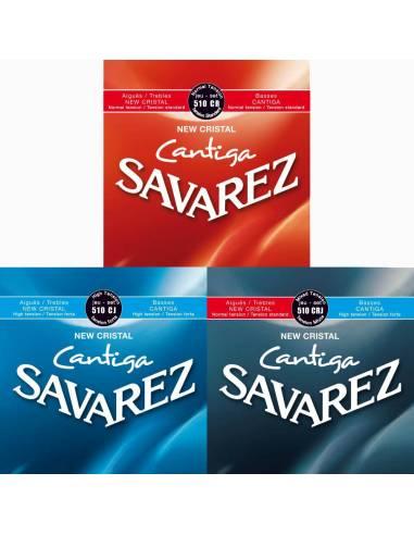 Cordes guitare Savarez New Cristal Cantiga
