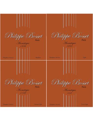 Philippe Bosset Acoustique Phosphore Bronze cordes guitare