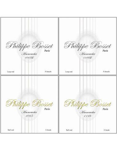 Philippe Bosset cordes Manouche guitare