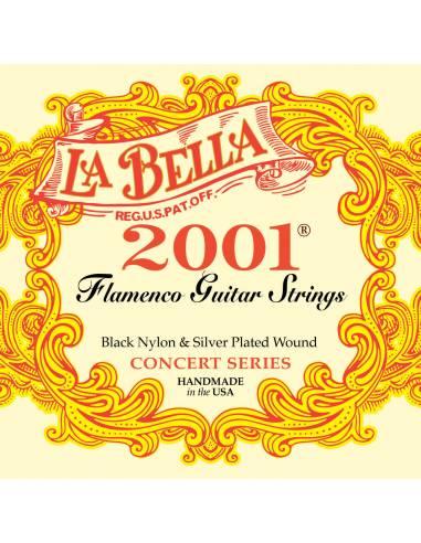 La Bella 2001 Flamenco cordes guitare