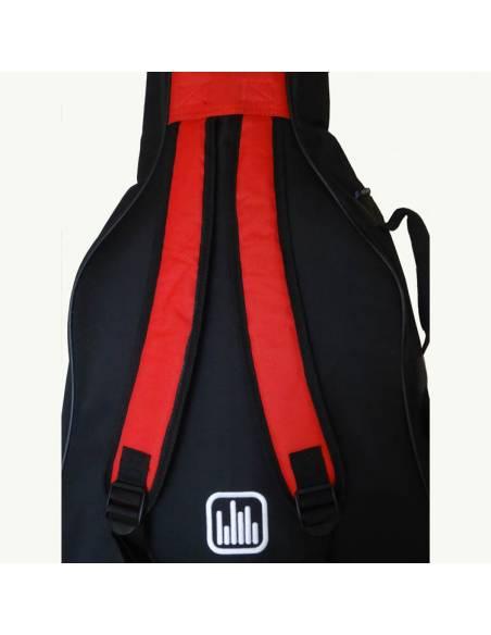 Housse Tonträger bretelles sac à dos
