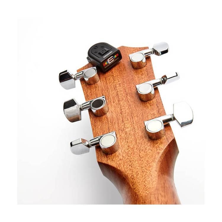 Mini headstock guitare d'addario Planet Wave_positionné