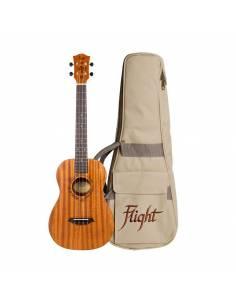 ukulele électroacoustique Baryton Flight DUB38