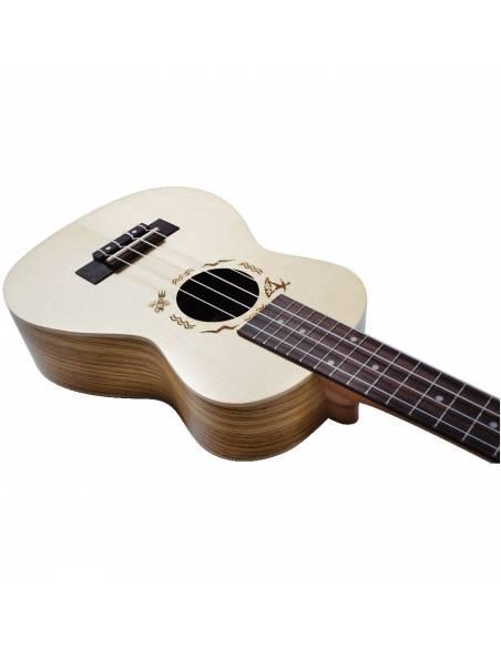 Corps ukulele Concert Flight DUC325