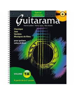 Guitarama volume 1 A tablature