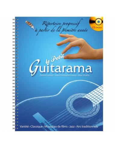 Le petit Guitarama notation solfège et CD