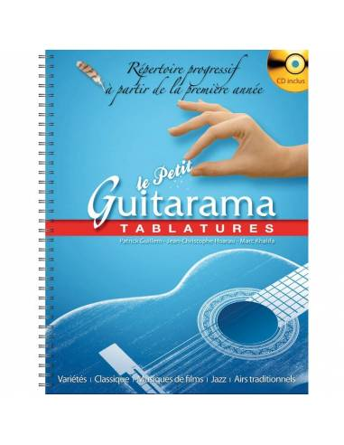 Le petit Guitarama notation tablature et CD