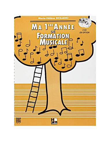 Ma 1ère année de formation musicale M-H SICILIANO