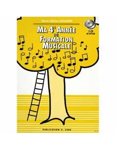 Ma 4ème année de formation musicale M-H SICILIANO