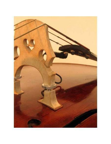 Capteur acoustique contrebasse The Realist cuivre