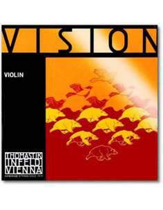 Thomastik Vision jeu violon RE argent