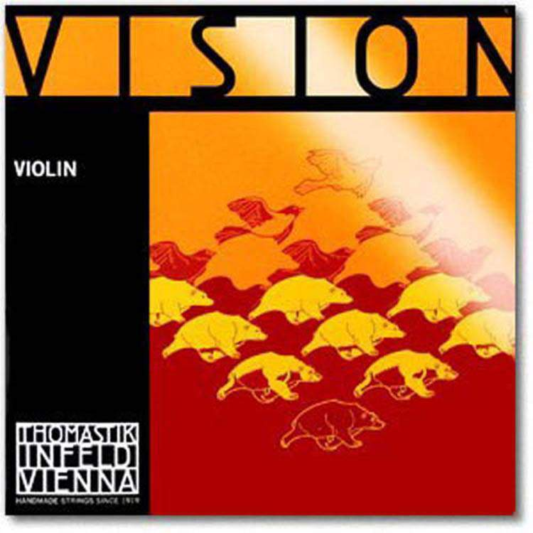 Thomastik Vision jeu violon RE argent