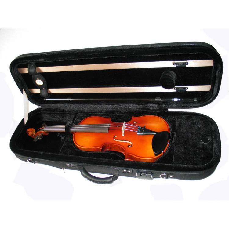 Etui violon coque nylon forme oblong