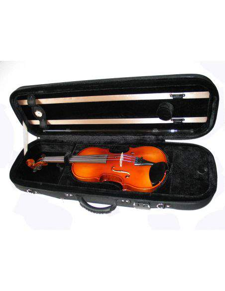 Etui violon coque nylon forme oblong