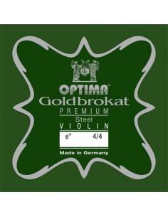 corde violon Mi Optima Goldbrokat Premium Steel