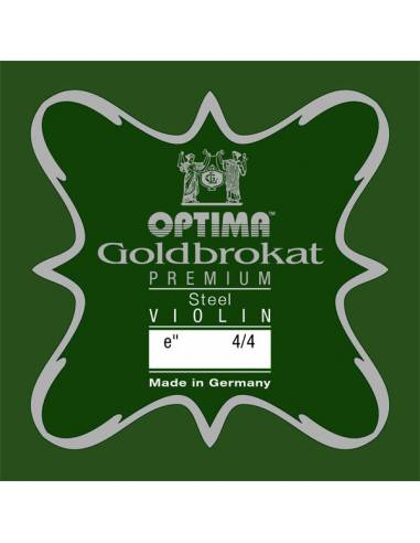 corde violon Mi Optima Goldbrokat Premium Steel