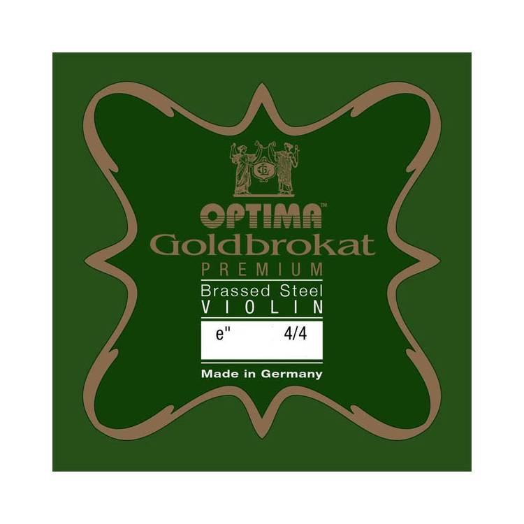 MI violon Optima Goldbrokat Premium Acier Laiton