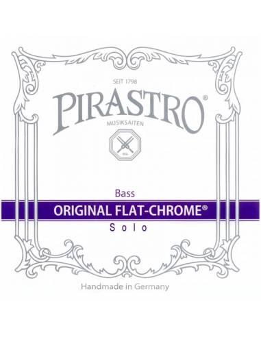 pirastro original flat chrome solo contrebasse